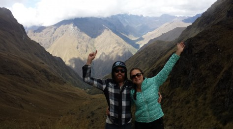 We made it! Dead Woman's Pass - the highest point of the Inca Trail