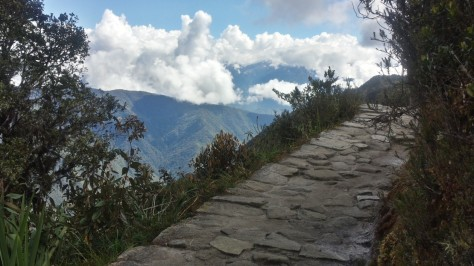 Original Inca road, Day 3.
