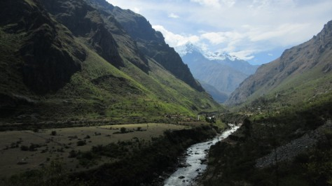 The beginning of the Inca Trail.