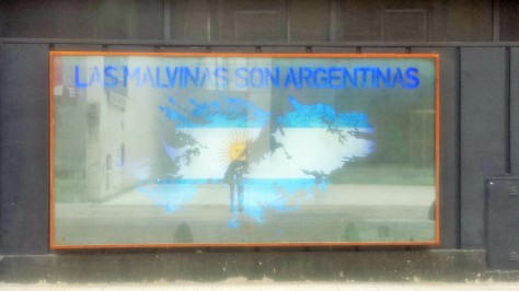 """The Falklands are Argentinian"". They take this VERY seriously."