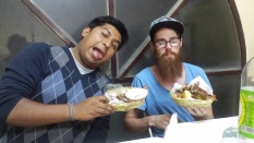 We ate at our favourite fried chicken shop