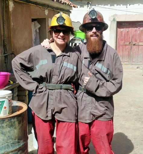A pair of the sexiest miners you'll ever see. If you're reading this aloud, correct, that did sound horrible.