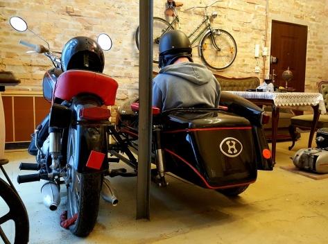 Hungarian Motorbike Sidecar
