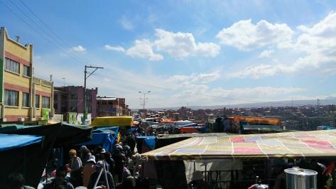 Bolivian markets